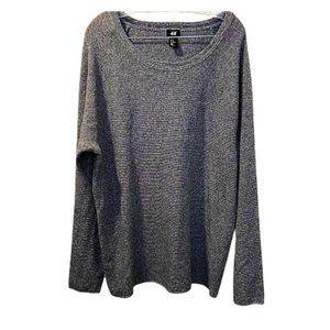 H&M Men's Pullover Long Sleeve Sweater T-Shirt